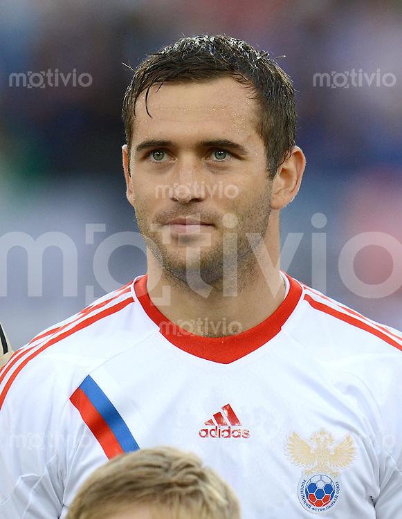 FUSSBALL INTERNATIONAL  EM 2012 Testspiel 01.06.2012 Italien - Russland  Aleksandr Kerzhakov (Russland)