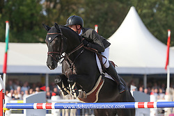 Guery Jerome, BEL, Kel'Star Du Vingt Ponts<br /> Final Belgium Championships<br /> Zangersheide FEI World Cup Breeding Jumping<br /> © Dirk Caremans<br /> 15/09/18