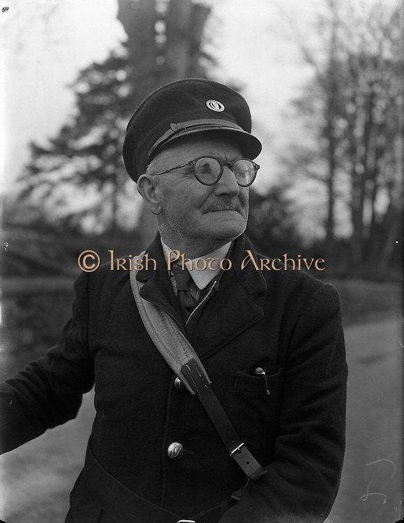 William Brown, Postman, Clontibret, Co. Monaghan.04/04/1957