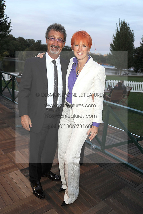 EDDIE & MARIE JORDAN at the Royal Parks Foundation Summer Party hosted by Candy & Candy on the banks of the Serpentine, Hyde Park, London on 10th September 2008.
