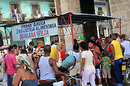 Alberto Carrera, Market at The Capitoll Square, Havana, Cuba, America