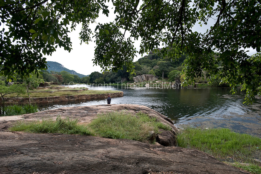 Kaludiya Pokuna (Black Pond) at Mihintale.