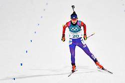 February 10, 2018 - Pyeongchang, South Korea - 180210 Mun Jihee of Republic of Korea  competes in the Women's Biathlon 7,5 km Sprint during day one of the 2018 Winter Olympics on February 10, 2018 in Pyeongchang..Photo: Petter Arvidson / BILDBYRN / kod PA / 87614 (Credit Image: © Petter Arvidson/Bildbyran via ZUMA Press)