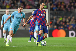 November 5, 2019, Barcelone, Espagne: FOOTBALL: FC Barcelone vs SK Slavia Praha - Champions League - 05/11/2019.Sergio Busquets. (Credit Image: © Panoramic via ZUMA Press)