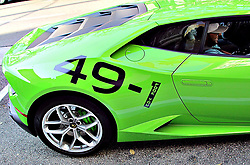 Conor Mcgregor Lamborghini Centenario has a special message for the upcoming Money Fight against Floyd Mayweather 49-1 Fook You & Precision Beats Power - Timing Beats Speed. 24 Aug 2017 Pictured: Conor McGregor wrapped Lamborghini. Photo credit: KAT / MEGA TheMegaAgency.com +1 888 505 6342