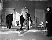 1959 - 21/01 New Swiss Minister Presents Credentials to the President