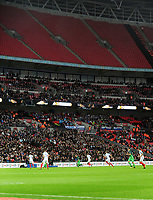 Football - 2017 / 2018 FIFA World Cup Qualifier - UEFA Group F: England vs. Slovenia<br /> <br /> Empty stands - Top tier completely empty at Wembley.<br /> <br /> COLORSPORT/ANDREW COWIE