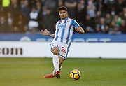 Huddersfield Town's Christopher Schindler  during the Premier League match between Huddersfield Town and West Bromwich Albion at the John Smiths Stadium, Huddersfield, England on 4 November 2017. Photo by Paul Thompson.