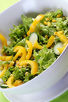 Close up of spring salad