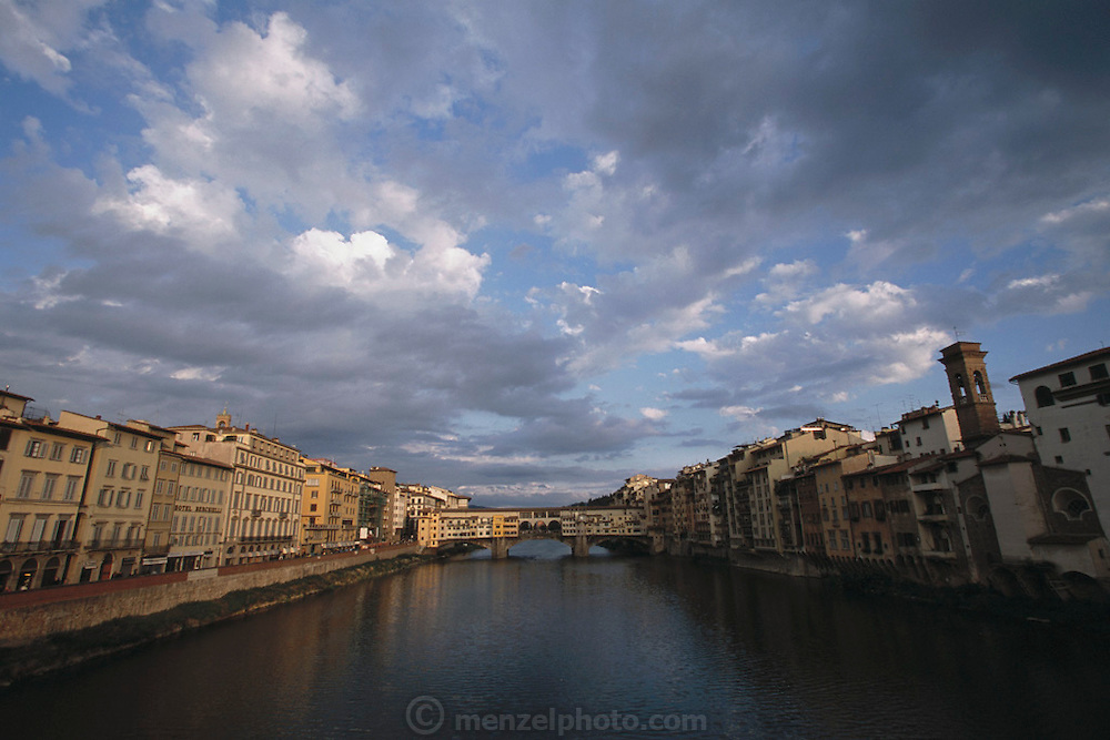 Ponte Vecchio over the Arno River. Florence, Italy.