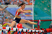 Athletics - IAAF World Championships 2013 - Stadium Loujniki , Moscow , RUSSIA - 10 to 18/08/2013 - Photo JULIEN CROSNIER / KMSP / DPPI - Day 4 - 13/08/13 - 400M Hurdles Women - Zuzana Hejnova (CZE)