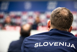 during press conference before Euro 2019 qualification football match between national team Slovenia and Latvia in Stadion Stozice, Ljubljana on 15th November, 2019, Slovenia. Photo by Grega Valancic / Sportida