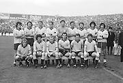 All Ireland Senior Football Championship Final, Dublin v Kerry, 26.09.1976, 09.26.1976, 26th September 1976, 26091976AISFCF, Dublin 3-08 Kerry 0-10, .Dublin, P Cullen, G O'Driscoll, S Doherty, R Kelleher, T Drumm, K Moran, P O'Neill, B Mullins, B Brogan, A O'Toole, A Hanahoe (capt), D Hickey, B Doyle, J Keaveney, J McCarthy, Subs F Ryder for A Hanahoe, P Gogarty for B Doyle,