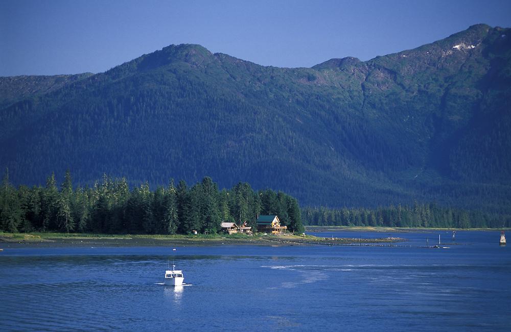 Near Wrangell.Inside Passage.Alaska.USA