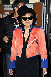 Yoko Ono during the 'John Lennon Educational Tour Bus ' photocall, Berlin, Germany, Berlin, Germany on October 15, 2013. Picture by Schneider- Press / i-Images<br /> UK & USA ONLY