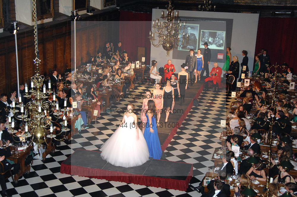 The fashion show at the 2008 Berkeley Dress Show at the Royal Hospital Chelsea, London on 3rd April 2008.<br />
