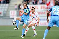 FOOTBALL - FRENCH CHAMPIONSHIP 2010/2011 - L1 - AS NANCY v STADE BRESTOIS - 18/09/2010 - PHOTO GUILLAUME RAMON / DPPI - LICKA (BREST)