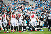 December 24, 2017: CAR vs TB. Cam Newton injured on a play