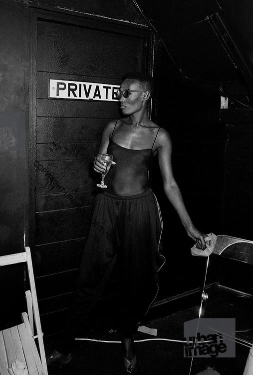 Grace Jones – Heaven Nightclub –  London 1985