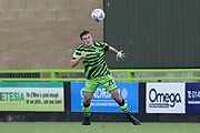 Forest Green Rovers Liam Kitching(20) heads the ball during the EFL Sky Bet League 2 match between Forest Green Rovers and Crawley Town at the New Lawn, Forest Green, United Kingdom on 5 October 2019.