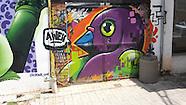 Johannesburg: Street Art Graffitti 6th March 2017
