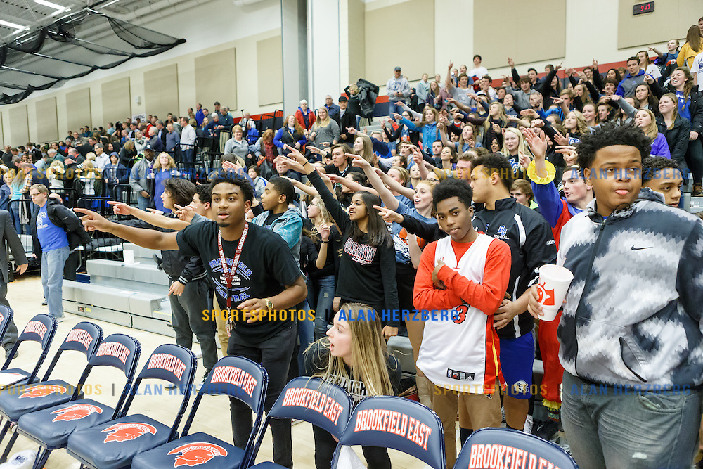 Brookfield Central @ Brookfield East<br /> January 15, 2016