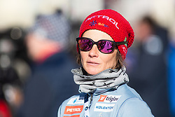 Andreja Mali head coach of Slovenian biathlon national team during the Women 15 km Individual Competition at day 2 of IBU Biathlon World Cup 2019/20 Pokljuka, on January 23, 2020 in Rudno polje, Pokljuka, Pokljuka, Slovenia. Photo by Peter Podobnik / Sportida