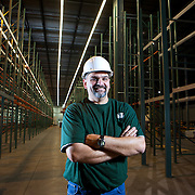 O'Reilly Auto Parts Distribution Center, Lakeland, FL Florida Annual Report Photography, Annual Reports, Automotive Business Portrait