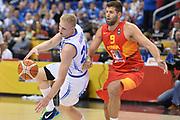 DESCRIZIONE : Berlino Berlin Eurobasket 2015 Group B Spain Iceland<br /> GIOCATORE : Haukur Palsson<br /> CATEGORIA : Palleggio equilibrio sequenza<br /> SQUADRA : Iceland<br /> EVENTO : Eurobasket 2015 Group B <br /> GARA : Spain Iceland<br /> DATA : 09/09/2015 <br /> SPORT : Pallacanestro <br /> AUTORE : Agenzia Ciamillo-Castoria/Mancini Ivan<br /> Galleria : Eurobasket 2015 <br /> Fotonotizia : Berlino Berlin Eurobasket 2015 Group B Spain Iceland