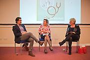 Ian Williams, Bobbie Farsides & Lisa Rodrigues<br /> <br /> Brighton & Sussex Medical School 'Ethics in Performance' by Professor Bobbie Farsides