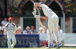 James Fuller of Gloucestershire - Photo mandatory by-line: Dougie Allward/JMP - Mobile: 07966 386802 - 09/07/2015 - SPORT - Cricket - Cheltenham - Cheltenham College - LV=County Championship 2