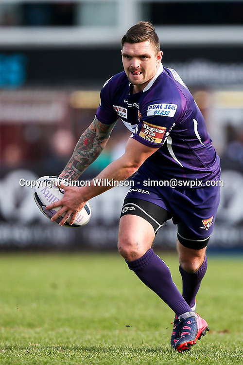 Picture by Alex Whitehead/SWpix.com - 22/03/2015 - Rugby League - First Utility Super League - Wakefield Trinity Wildcats v Huddersfield Giants - Rapid Solicitors Stadium, Wakefield, England - Huddersfield's Danny Brough in action.