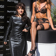 NLD/Amsterdam/20130905 - Lancering lingerielijn Pretty Wild, Ellen ten Damme