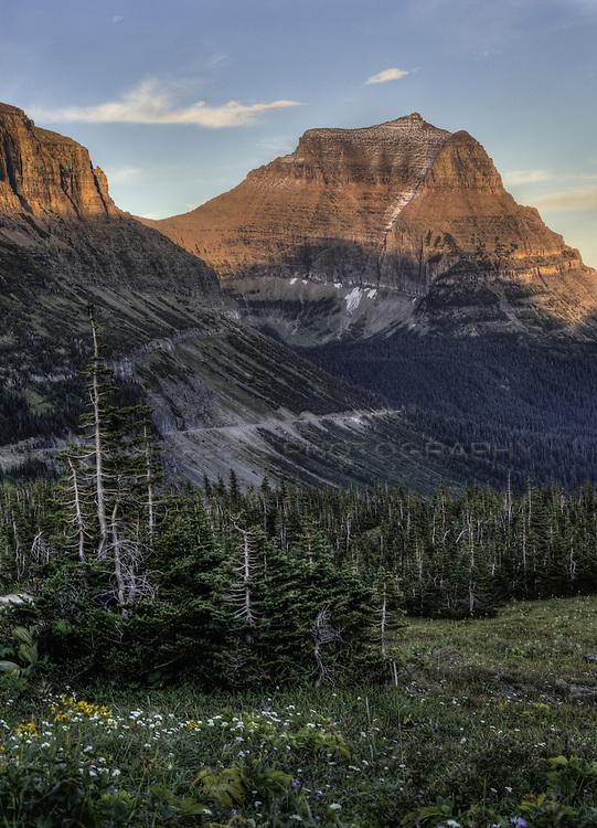 Glacier National Park HDR
