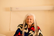Billie Ruth Martin Hoff, Caddo Indian, Binger Nursing Home, Oklahoma, artist, senior, elder