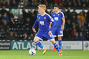 Brentford FC midfielder Ryan Woods (15) wins the ball during the EFL Sky Bet Championship match between Derby County and Brentford at the iPro Stadium, Derby, England on 18 October 2016. Photo by Aaron  Lupton.