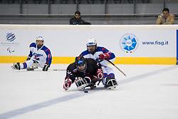 JPN v KOR during the 2013 World Para Ice Hockey Qualifiers for Sochi, Torino, Italy