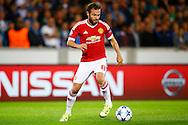 26-08-2015 VOETBAL:CLUB BRUGGE-MANCHESTER UNITED:BRUGGE<br /> Champions League 2015-2016<br /> <br /> Juan Mata van Manchester United  <br /> <br /> Foto: Geert van Erven