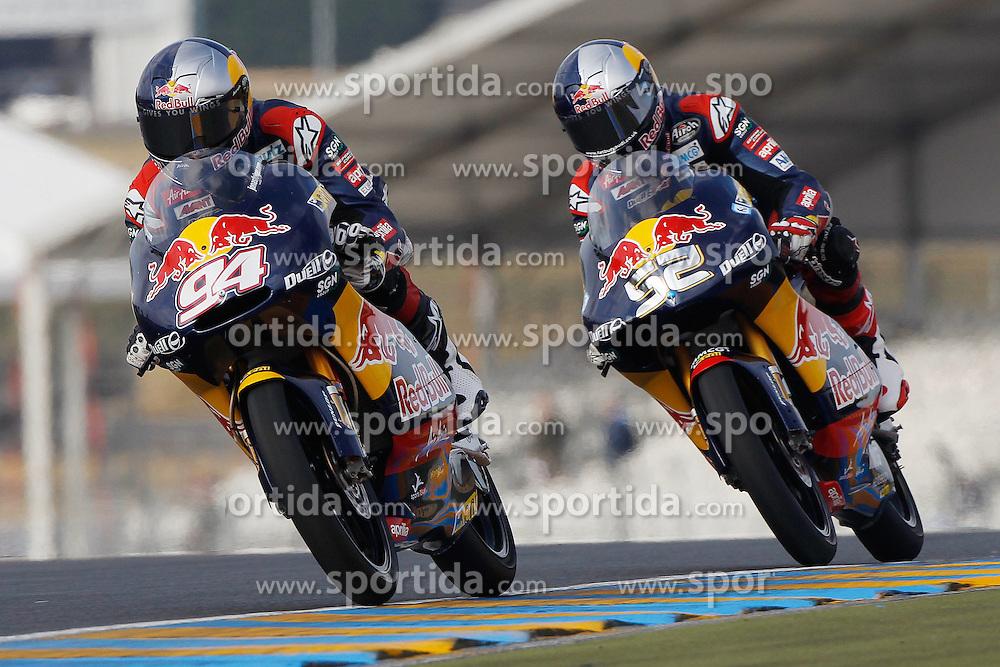 14.05.2011, Le Mans, FRA, MotoGP, Motomondiale Le Mans, im Bild Jonas Folger - Red Bull Ajo Motorsport. EXPA Pictures © 2011, PhotoCredit: EXPA/ InsideFoto/ Semedia +++++ ATTENTION - FOR AUSTRIA/AUT, SLOVENIA/SLO, SERBIA/SRB an CROATIA/CRO CLIENT ONLY +++++