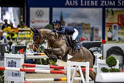 NAGEL-TORNAU Sarah (GER), Carouge<br /> Grand Prix von Volkswagen<br /> Int. jumping competition over two rounds (1.55 m) - CSI3*<br /> Comp. counts for the LONGINES Rankings<br /> Braunschweig - Classico 2020<br /> 08. März 2020<br /> © www.sportfotos-lafrentz.de/Stefan Lafrentz