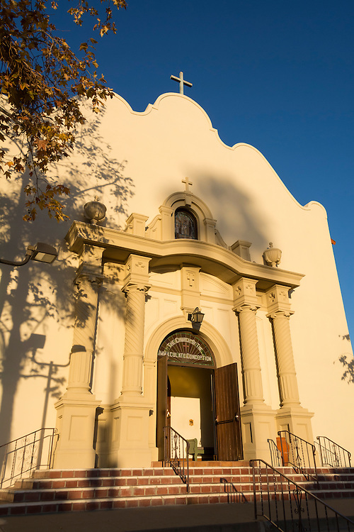 Church of the Immaculate Conception in Old Town State Park, San Diego, California.