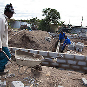 The Stars Foundation visiting Home from Home in Cape Town, South Africa...The building site of another of Home from Home's homes going up in East London. So far Home from Home has only worked in the Western Cape but they are now expanding into the Eastern Cape which has a huge problem with children in need of care...Home from Home provide security for children who are either orphans or have been abandoned, neglected or abused . Many of the children have suffered severe abuse and more than half are HIV positive. Home from Home set up foster homes of no more than six children in local communities where there is a need and employ women to run the homes and become the registered foster mother of the children.
