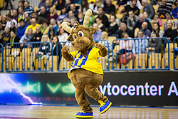 Mascot of Celje PL during handball match between RK Celje Pivovarna Lasko and RK Gorenje Velenje in Eighth Final Round of Slovenian Cup 2015/16, on December 10, 2015 in Arena Zlatorog, Celje, Slovenia. Photo by Vid Ponikvar / Sportida