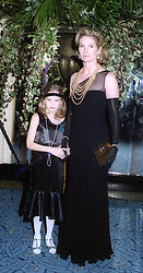 LADY MARY-GAYE CURZON and her daughter CRESSIDA BONAS at a party in London on 27th January 1998.MEW 12