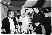 angus Maxwell-Macdonald, Paul thompson and John Sumner. Birthday party. Cirencester. 3 June 1988.<br />