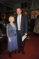 Actress SHEILA REID and actor DOMINIC WEST at a Christmas Carol service in aid of Breast Cancer Haven held at St.Paul's Knighsbridge, Wilton Place, London on 8th December 2009.