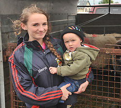Rebecca Heraty with Conor McDonnell at the Murrisk Pattern day on sunday last.<br /> Pic Conor McKeown