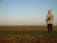 Marrum, 27 dec. 2003. Noorderleeg, Fryslân Bûtendyks (Friesland Buitendijks).