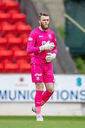 Zander Clark (#1) of St Johnstone FC during the Ladbrokes Scottish Premiership match between St Johnstone and Motherwell at McDiarmid Stadium, Perth, Scotland on 11 May 2019.