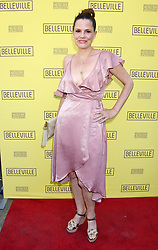 """Jessica Barth at the """"Belleville"""" Opening Night held at the Pasadena Playhouse on April 22, 2018 in Pasadena, Ca. © Janet Gough / AFF-USA.COM. 22 Apr 2018 Pictured: Suzanne Cryer. Photo credit: Janet Gough / AFF-USA.COM / MEGA TheMegaAgency.com +1 888 505 6342"""